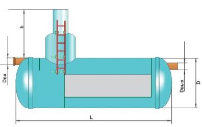 Схема бензомаслоотделителя